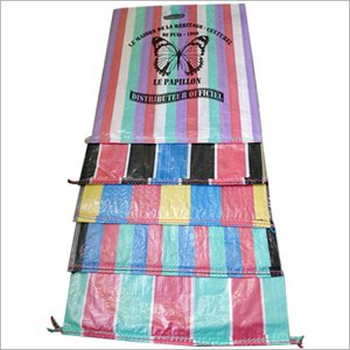 PP Woven D Cut Shopping Bag