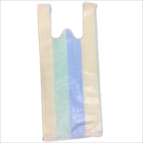 PP Woven Plain W Cut Bag
