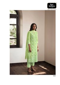 Pearl Vol 2 Viscose Chanderi With Lucknowi Embroidery Work  Kurtis