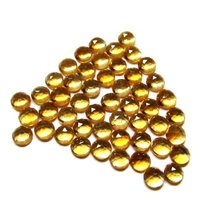 5mm Citrine Rose Cut Round Loose Gemstones