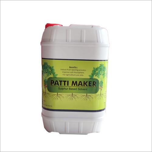 Patti Maker Sulphur Based Solvent