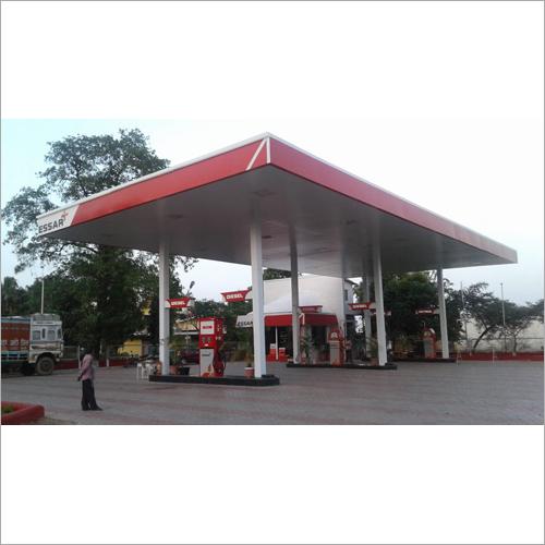 Essar Petrol Pump Canopy
