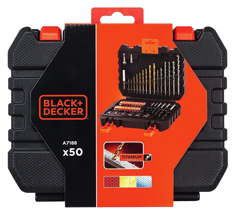 Black Decker A7188 Drill and Screwdriver Bit -Set