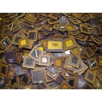 Ceramic CPU Processor Gold Scrap