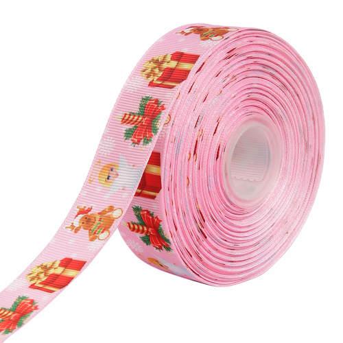 Christmas Santa Accessories 25mm/1'' Inch Gross Grain Ribbon