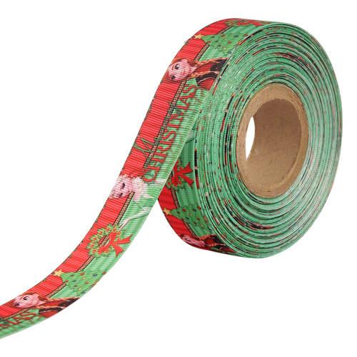 Christmas Frozen Ribbons 25mm/1'' Inch Gross Grain Ribbon