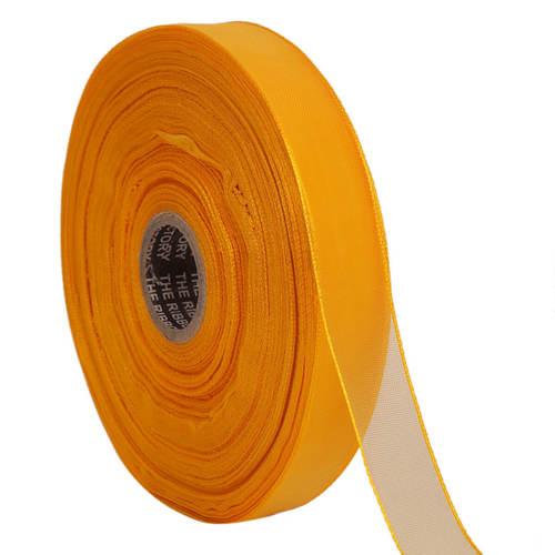 Lurex – Dyed Yellow Ribbons 25mm/1'' Inch Ribbon