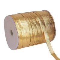 Lurex – Golden Yellow Ribbons 10mm Ribbon 50mtr Length