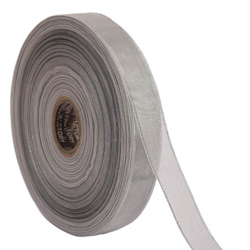 Lurex – Cream Ribbons 25mm/1'' Inch 20mtr Length