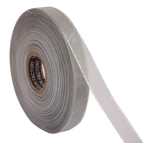 Lurex – Silver Zari Edge Ribbons 25mm/1'' Inch 20mtr Length