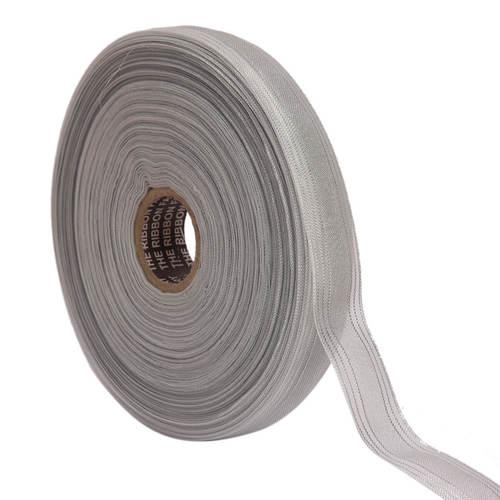 Lurex – Silver Stripe Triple Line Ribbons 25mm/1'' Inch 20mtr Length