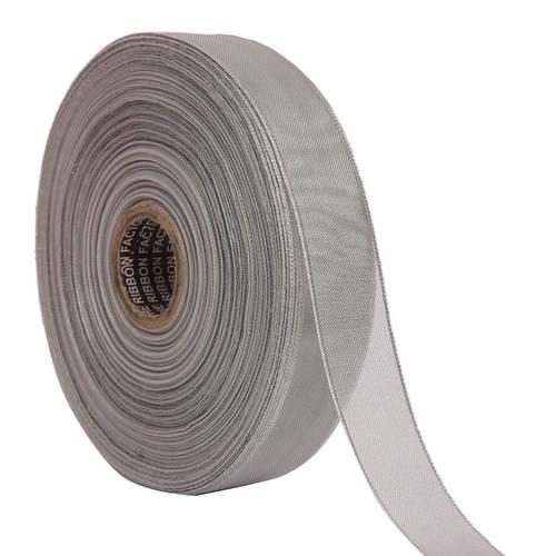 Lurex – Silver Edge Ribbons 25mm/1'' Inch 20mtr Length