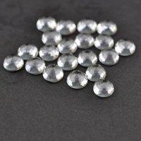 4mm Crystal Quartz Rose Cut Round Loose Gemstones