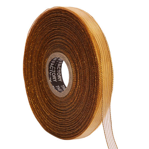 Lurex – Gold Edge Ribbons25mm/1''inch 20mtr Length
