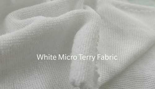White Micro Terry Fabrics