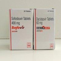 Sofovir  400 mg Tablet + Daclahep 60 Tablet