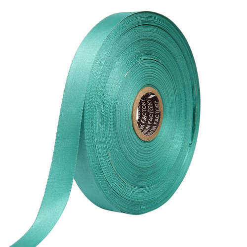 Double Satin NR –Turquoise Green Ribbons 25mm/1''inch 20mtr Length