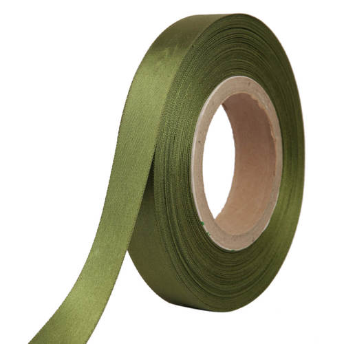 Double Satin NR – Military Green Ribbons 25mm/1''inch 20mtr Length