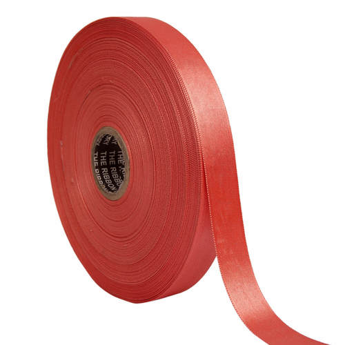 Double Satin NR – Carrot Pink Ribbons 25mm/ 1''inch 20mtr Length