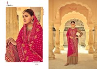 Libaas Chinon With Heavy Embroidery Work Salwar Suit
