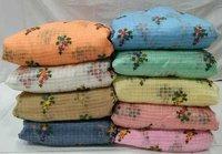 Organza Checks Multi Embroidery