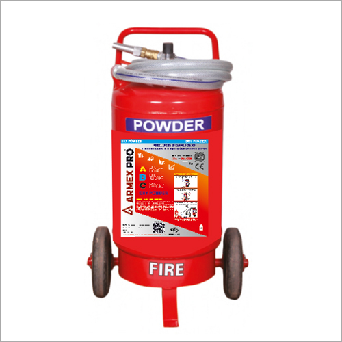 Dry Chemical Powder ABC Type Wheeled Fire Extinguisher