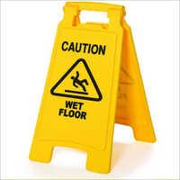 Plastic Caution Board