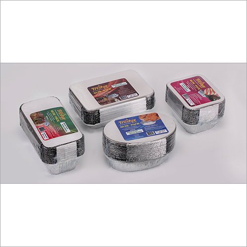 QuickPack Freshee Foil Container - 250 ML