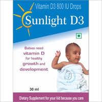 30 ml Vitamin D3 800 IU Drop