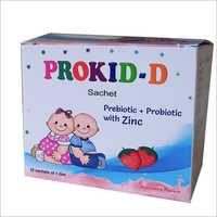 Prebiotic Probiotic With Zinc Sachets