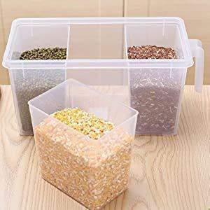 Multipurpose Fridge Storage Basket 3 Part