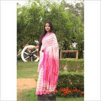 Ladies Fish Khadi Saree
