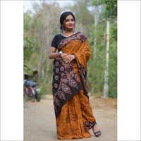 Ladies Hand Batik Saree