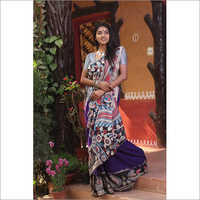 Ladies Kalamkari Cotton Saree