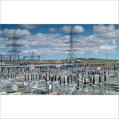Power Plant Substation Structure Application: Industrial