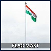 25 Mtr Flag Mast Pole
