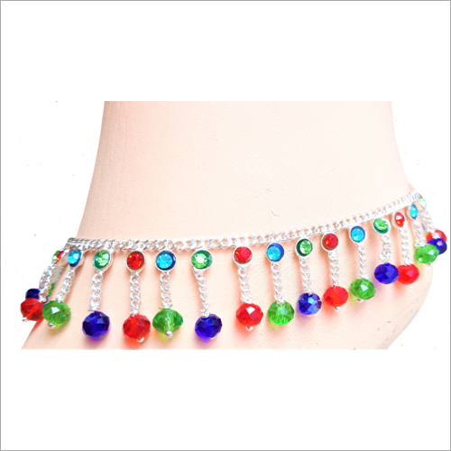 Ladies Hanging Chain Anklets