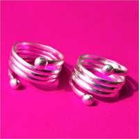 Plain Toe Rings