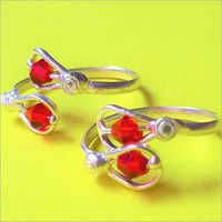 Red Toe Ring