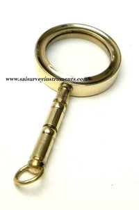 Brass Handle Magnifying Glass Nautical Magnifier