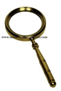 Mini Brass Magnifying Glass