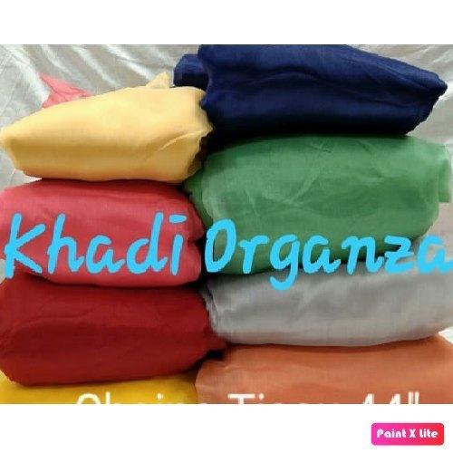 Organza Khadi Tissue Fabric
