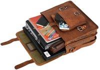 Briefcase Messenger Bag