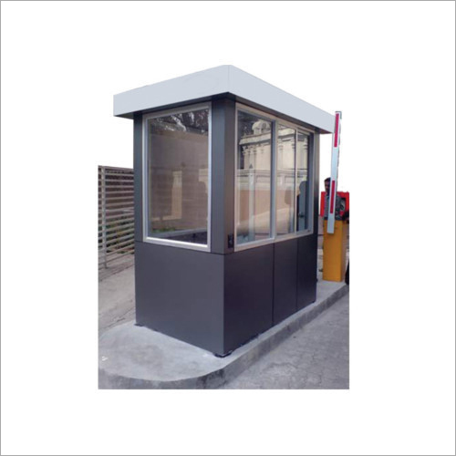 Steel MS Toll Booth Cabin
