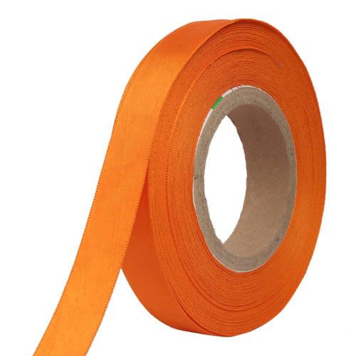 Double Satin NR – Orange Ribbons25mm/1''inch 20mtr Length
