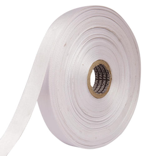 Double Satin NR – Silver Ribbons 25mm/1''inch 20mtr Length