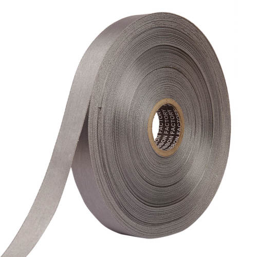 Double Satin NR – Grey Ribbons 25mm/1''inch 20mtr Length