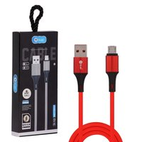DC-X12 2.4 AMP MICRO FAST BLUEI DATA CABLE