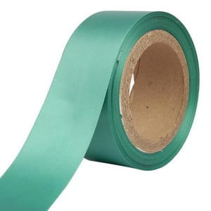Double Satin a   Jungle Green Ribbons  50mm /2'' Inch /1'' Inch 20mtr Length