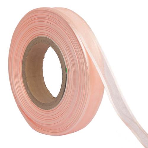 Organza Satin – Baby Pink Ribbons 25mm/1''inch 20mtr Length